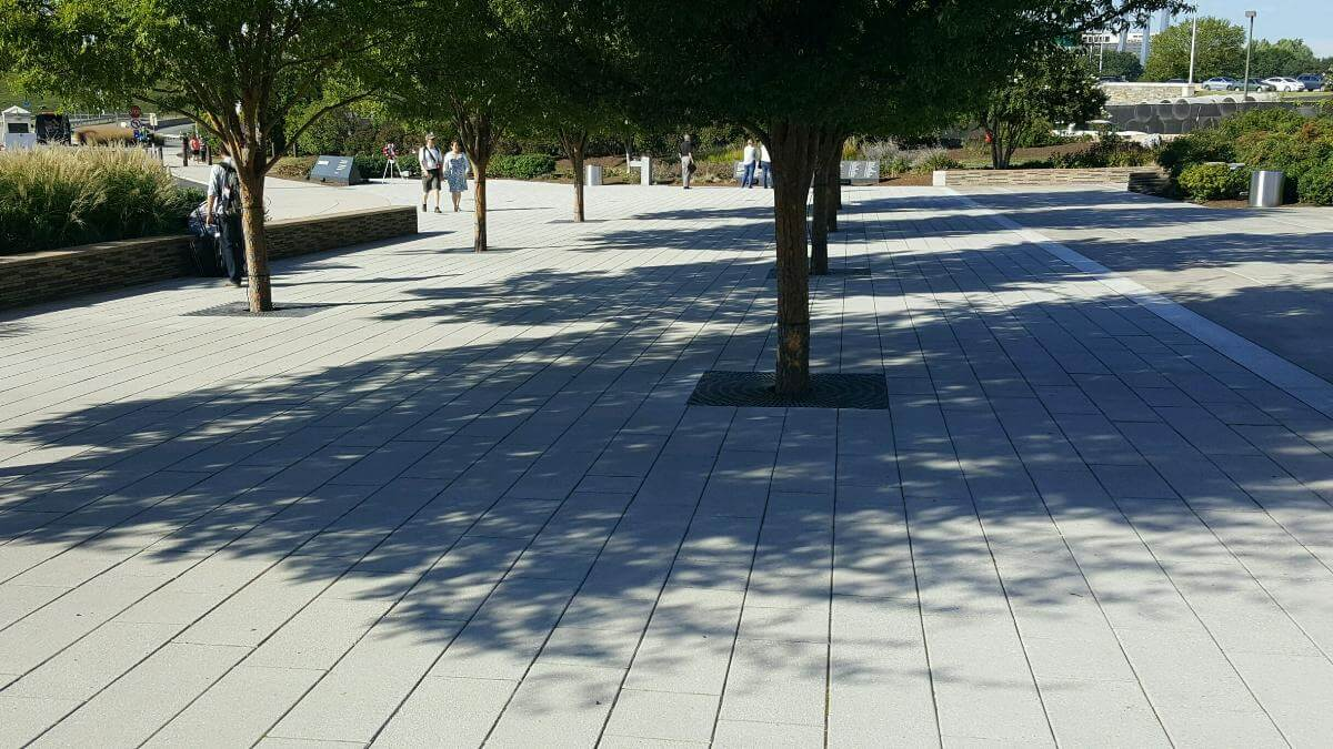 Pentagon Memorial Tree Grates