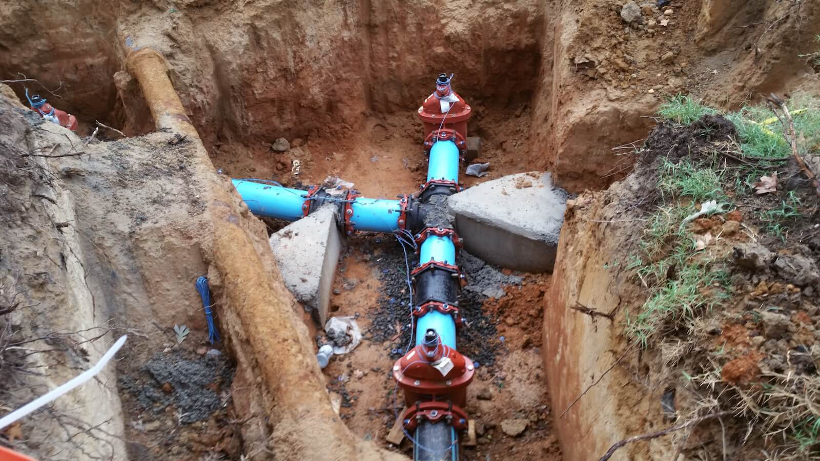 Fort Belvoir Water Line 2016